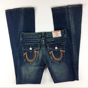 True Religion Julie Denim Wide Leg Jeans